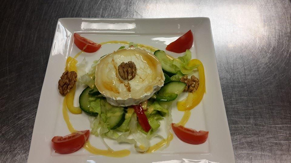 voorgerechten warme geitenkaas salade