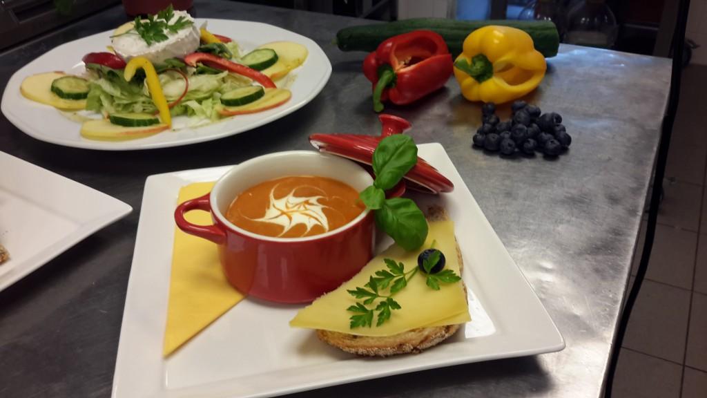 Proeftuin De Ontmoeting Culemborg soep salade