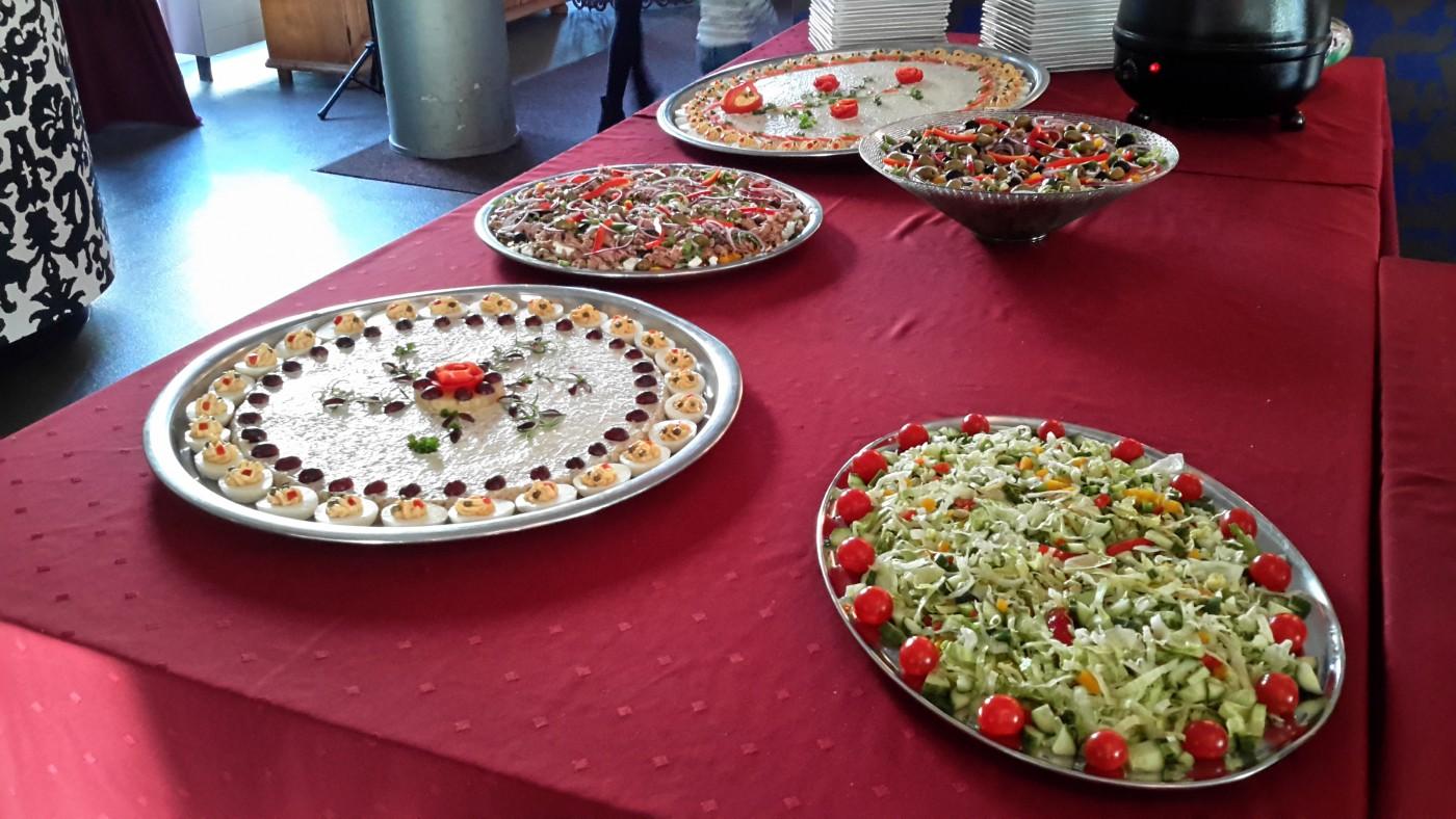 Proeftuin De Ontmoeting Culemborg saladebuffet