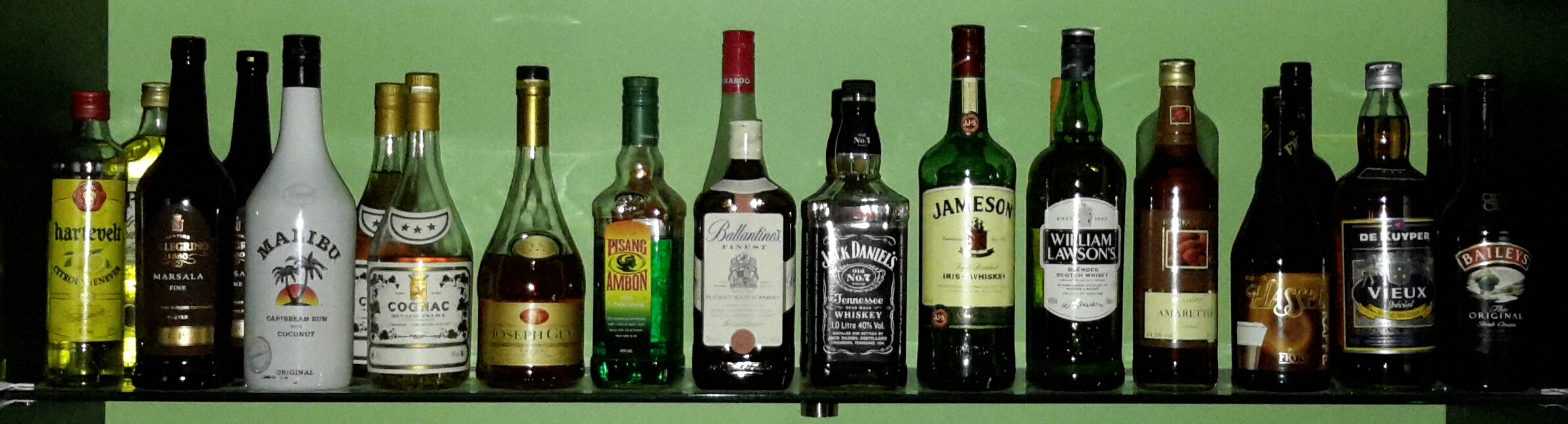Sterk alcoholische dranken